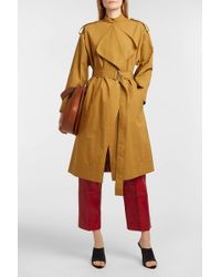 Cedric Charlier | Cotton Trench Coat | Lyst