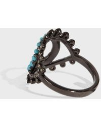 Rosa De La Cruz - Eye Ring, Size Fr40, Women - Lyst