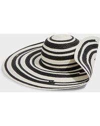 Missoni - Striped Wide Brim Raffia Hat - Lyst