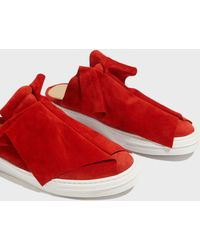 Ports 1961 - Two Layer Suede Mule Trainers - Lyst
