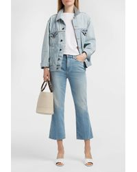 Khaite | Benny Cropped Flared Jeans | Lyst