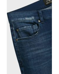 7 For All Mankind - Slimmy Luxe Performance Jeans, Size 30, Men, Blue - Lyst