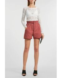 097b380711 Isabel Marant - Esy Quilted Shorts - Lyst