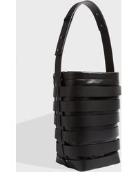 Paco Rabanne - Cage Hobo Bag, Size Os, Women, Black - Lyst