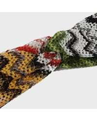 Missoni - Printed Headband, Size Os, Women - Lyst