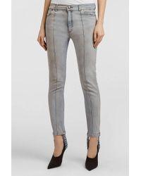 Magda Butrym - Benson Stirrup Jeans, Size Fr34, Women, Blue - Lyst