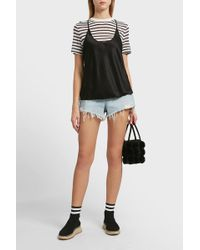 T By Alexander Wang - Racerback Top - Lyst