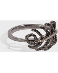 Rosa De La Cruz - Small Feather Ring - Lyst