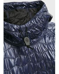 Stone Island - Quilted Puffer Hoodie - Lyst