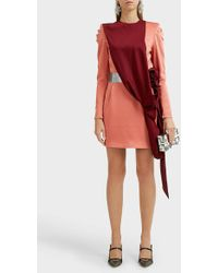 8c1bea23a Ronald Van Der Kemp Tutu Lace-paneled Ruffled Tulle Mini Dress in ...