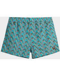 Missoni Printed Swim Shorts