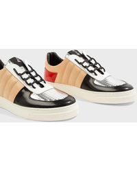 Proenza Schouler - Panelled Leather Trainers - Lyst