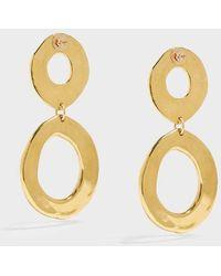 Sonia Boyajian - Holiday Gold-tone Earrings, Size Os, Women, Y Gold - Lyst