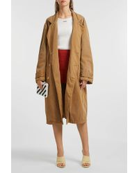 Yeezy - Cotton-blend Trench Coat - Lyst
