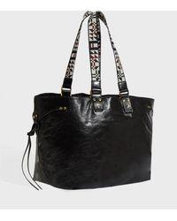 Isabel Marant - Bagya Leather Bag, Size Os, Women, Black - Lyst