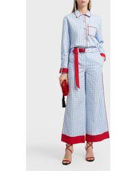Adam Selman - Pyjama Cotton Shirt - Lyst