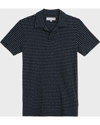 Orlebar Brown - Felix Striped Cotton Polo Shirt - Lyst
