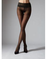 Boux Avenue - Lace Top Tights 20 Denier - Lyst