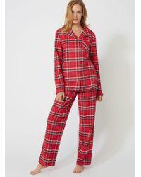 f36144cf4f Lyst - Boux Avenue Yd Check Pyjamas In A Bag in Blue