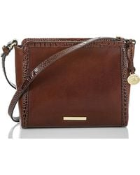 28a3a5c0ee1f Lyst - MICHAEL Michael Kors Quincy Large Shoulder Bag in Brown