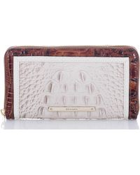 Brahmin - Seashell Brando Collection Suri Zip Around Wallet - Lyst