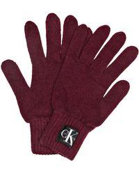 Calvin Klein - Handschuhe - Lyst