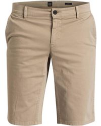 BOSS - Shorts SCHINO Slim Fit - Lyst