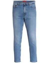 HUGO - Jeans 332 Tapered Fit - Lyst