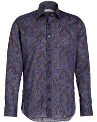 Etro Hemd Slim Fit