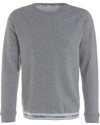 Calvin Klein - Lounge-Sweatshirt - Lyst