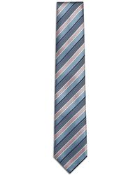 Brioni - Bluette Regimental Tie - Lyst