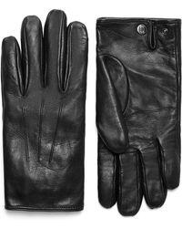 Brioni - Black Nappa Gloves - Lyst