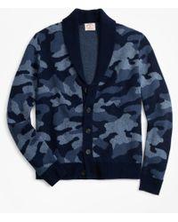4272775e8 Denim   Supply Ralph Lauren Camo Shawl-Collar Cardigan for Men - Lyst