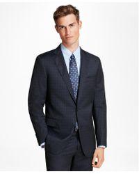 Brooks Brothers - Regent Fit Mini-plaid 1818 Suit - Lyst