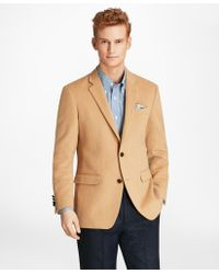 Brooks Brothers - Milano Fit Camel Hair Sport Coat - Lyst