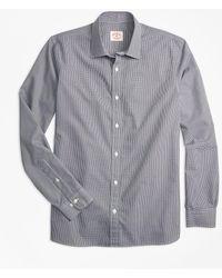 Brooks Brothers - Nine-to-nine Micro-gingham Shirt - Lyst