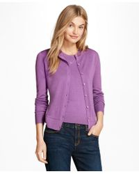 Brooks Brothers - Merino Wool Cardigan - Lyst