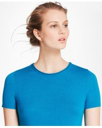 Brooks Brothers - Cashmere Short-sleeve T-shirt - Lyst