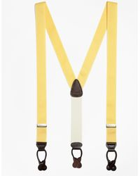 Brooks Brothers - Solid Suspenders - Lyst