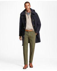Brooks Brothers - Classic Wool Duffle Coat - Lyst