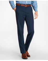 Brooks Brothers - Clark Fit Multi-check Stretch Advantage Chinos® - Lyst