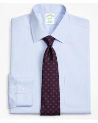 Brooks Brothers - Milano Slim-fit Dress Shirt, Non-iron Dobby Stripe - Lyst