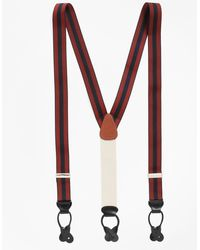 Brooks Brothers - Striped Suspenders - Lyst