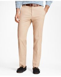 Brooks Brothers - Milano Fit Supima® Cotton Poplin Stretch Chinos - Lyst