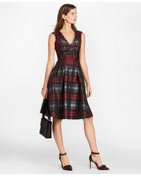 Brooks Brothers - Petite Tartan Jacquard Dress - Lyst