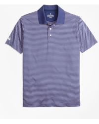 Brooks Brothers - Performance Series Thin Stripe Polo Shirt - Lyst