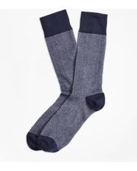 Brooks Brothers - Color-block Crew Socks - Lyst