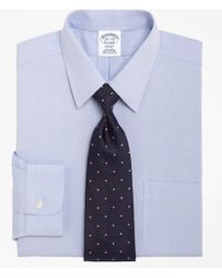Brooks Brothers - Non-iron Regent Fit Point Collar Dress Shirt - Lyst