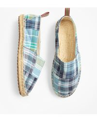 Brooks Brothers - Patchwork Espadrilles - Lyst