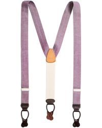 Brooks Brothers - Chambray Suspenders - Lyst